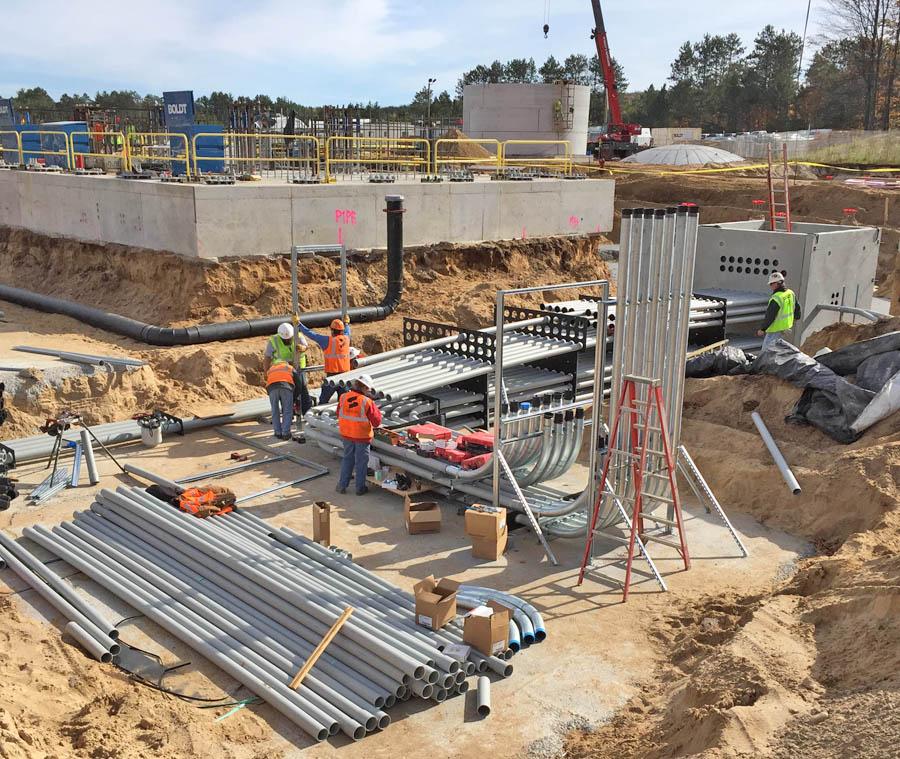 Alpine natural gas plant rises in northern Michigan
